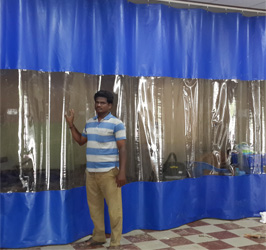 Car Wash Bay Screens