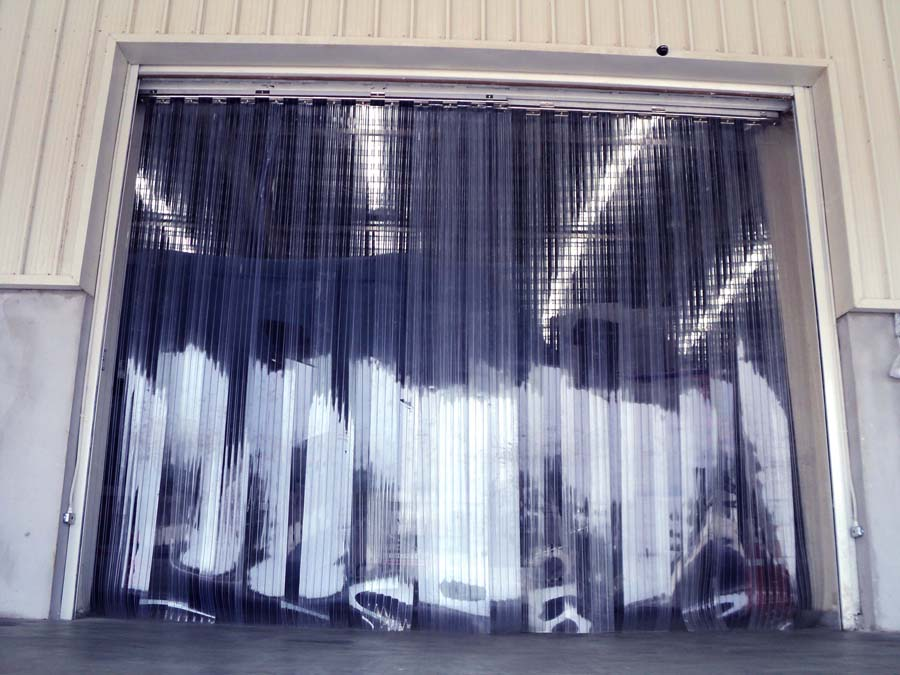 strip curtain rolls vinyl large door dock wide images doors post body curtains for strips clear related plastic
