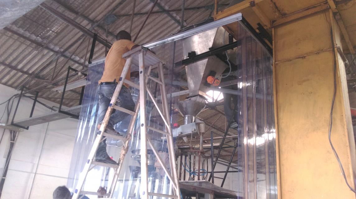 Dust Control PVC Strip Curtains