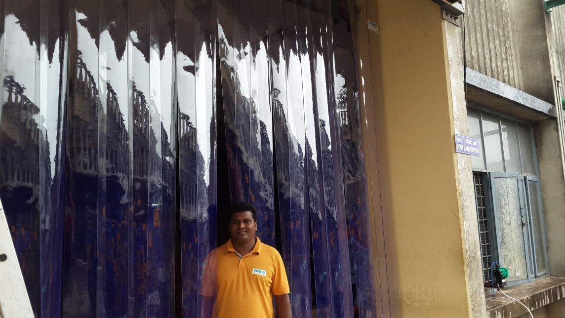 Birds Control PVC Strip Curtains