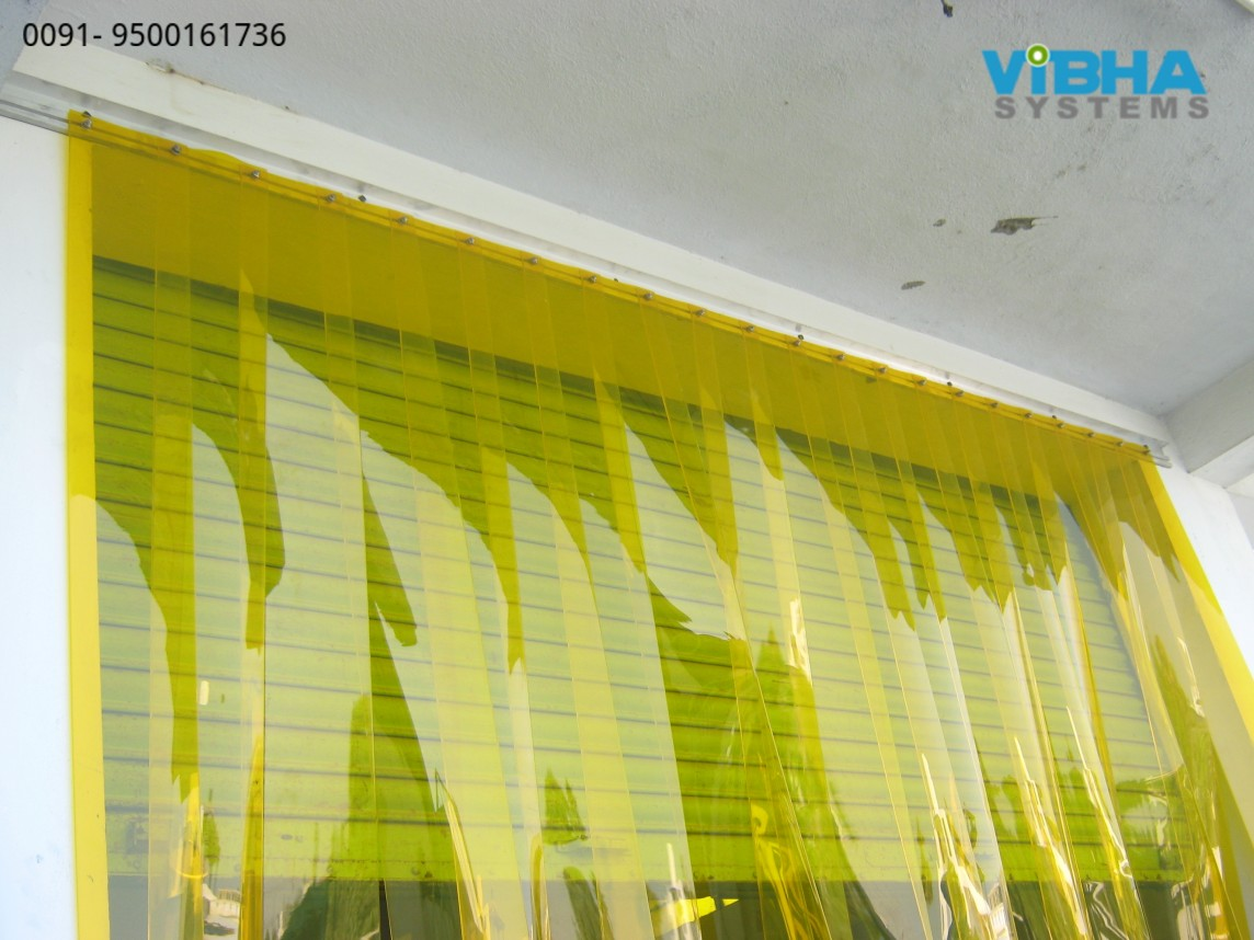 Insect Control PVC Strip Curtains Chennai