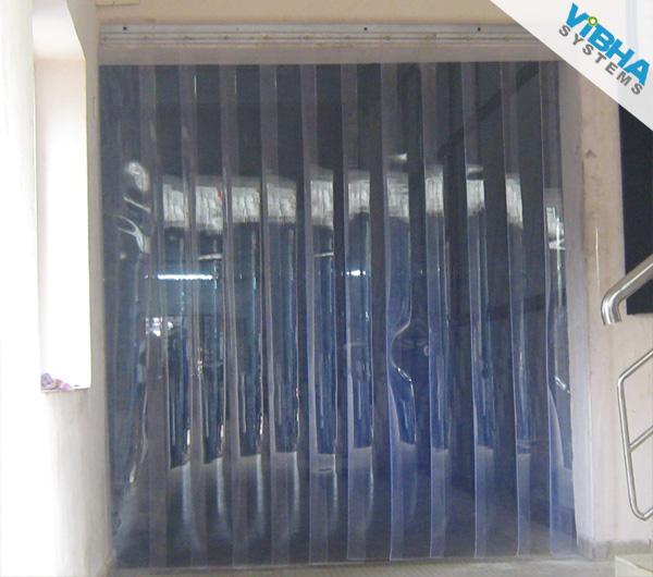 Plastic Door India Strip Pvc Curtains Industrial Curtain