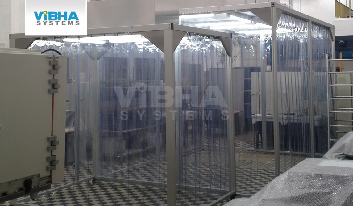 Softwall Cleanroom Strip Curtains