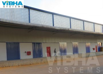 pvc strip curtains is the best solution for prevent the dust to entry the shop floor area. Our pvc strip curtains are hanged in industrial shutters