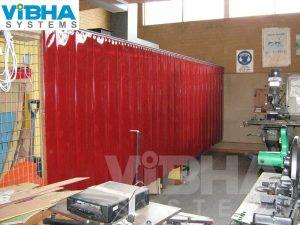 Welding Booth PVC Strip Curtains Chennai, Welding Booth PVC Strip Curtains Bangalore, Welding Booth PVC Strip Curtains India