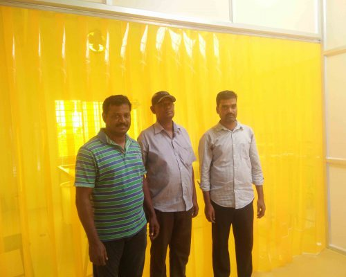 Insect Amber PVC Strip Curtains, Anti Insect PVC Strip Curtains, Insect Control PVC Strip Doors, Food Processing Units PVC Flap Curtains