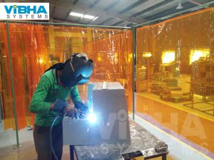Welding Booth Strip Curtains