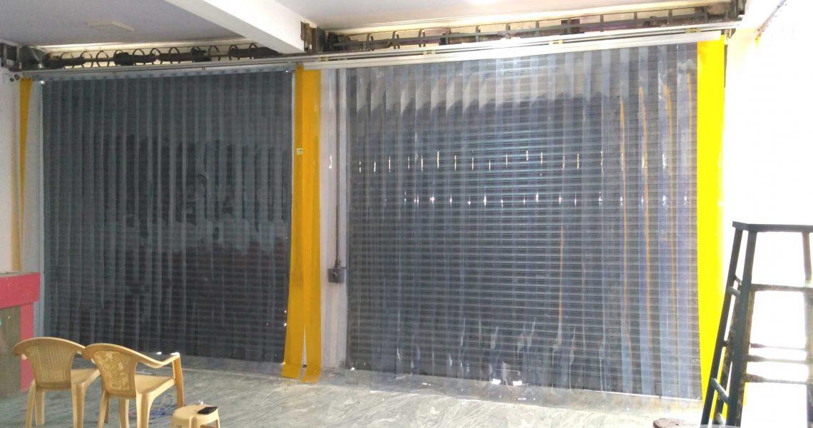 Body Shop Strip Curtains
