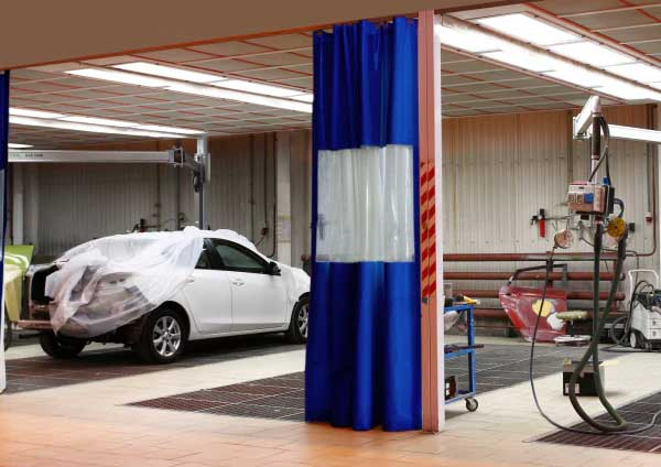 Body Shop Curtains Car Wash Curtains Chennai Bangalore