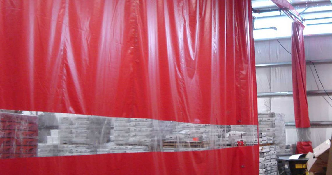 Factory Divider Curtains