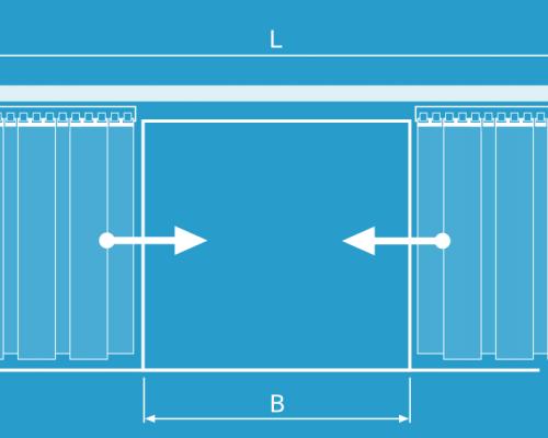 pvc-strip-curtains-single-row-sliding-type-open
