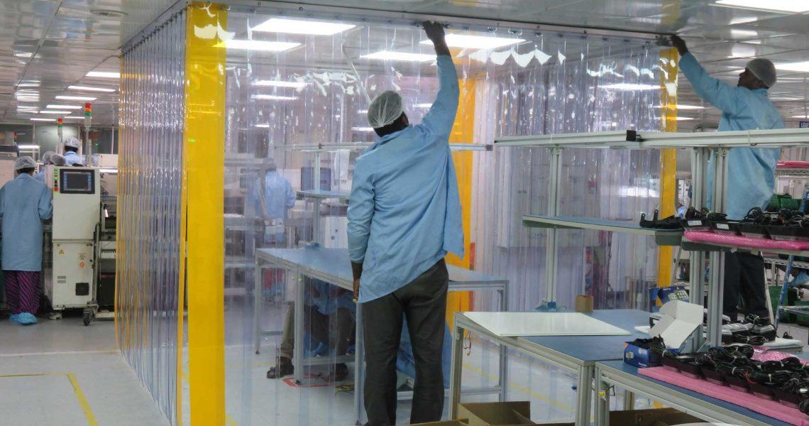 Soft wall PVC Strips
