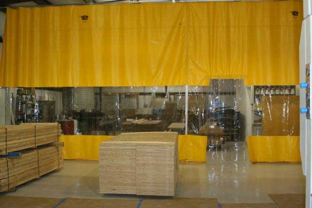 Woodworking Curtains