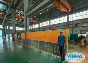 Welding Booth PVC Strip Curtains