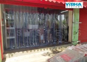 PVC Strip Curtains for Shop Entrances