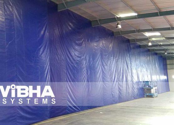 Warehouse Divider Curtains